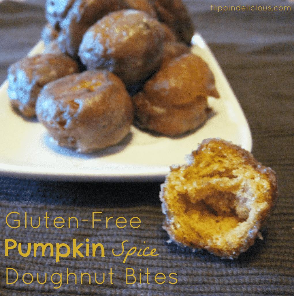 Gluten-Free Pumpkin Spice Doughnut Bites