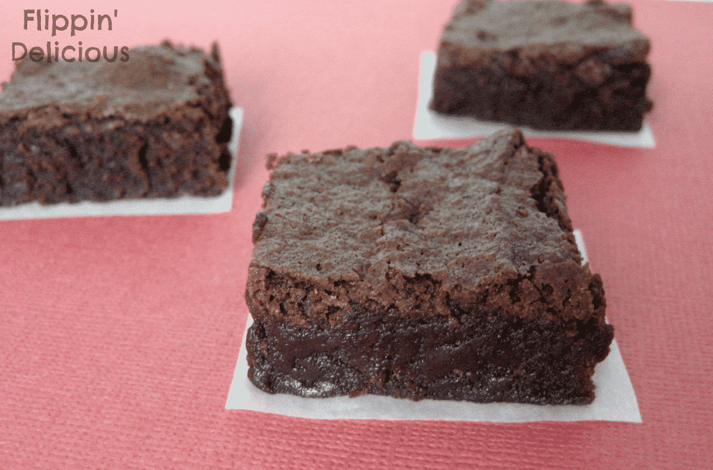 really are the BEST brownies I've had, gluten-free or not. So fudgy ...