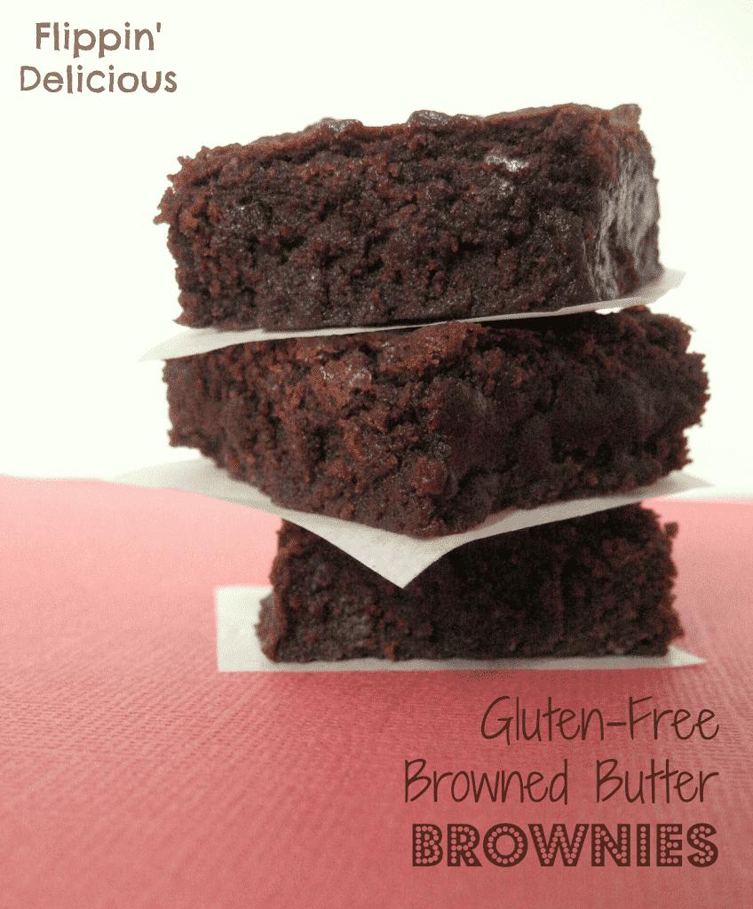 {Best} Gluten-Free Fudgy Brownies - Flippin' Delicious
