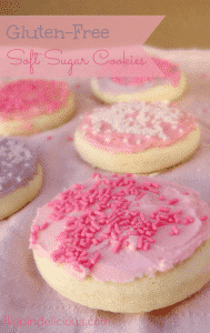 "Soft, cakey, gluten-free sugar cookies that taste even better than a gluten-filled lofthouse cookie. http://www.etsy.com/shop/FlippinDelishGFBaker Use coupon code ""GRANDOPEN30"" for 30% off your order!"