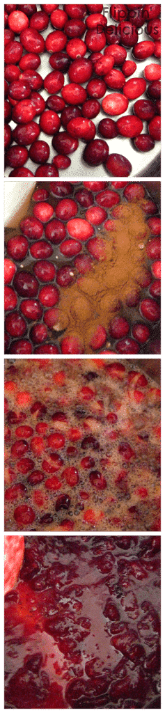 This Gluten-Free Cranberry Pudding Cake is tart and sweet. The cranberry filling is soaked up by sliced Udi's gluten-free muffins and sets into this beautiful cake. Top it with whipped cream, pecans, and Udi's Cranberry Granola for a little crunch. https://www.flippindelicious.com/2013/12/cranberry-pudding-cake.html
