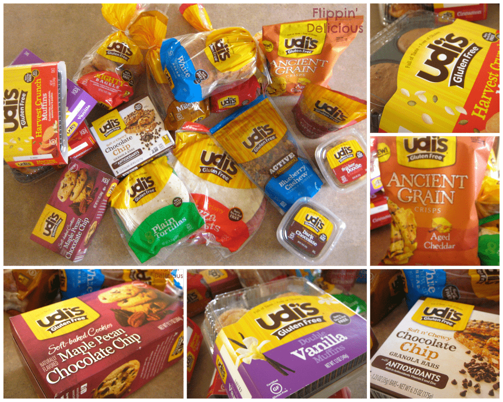 Udi's has so many great gluten-free products. Enter this giveaway to win 4 of your choice! https://www.flippindelicious.com/2013/12/cranberry-pudding-cake.html