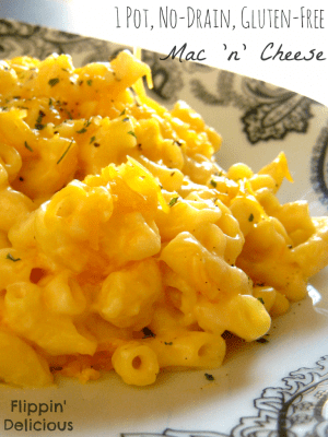 Gluten-Free 1 Pot, No-Drain, Mac 'n' Cheese